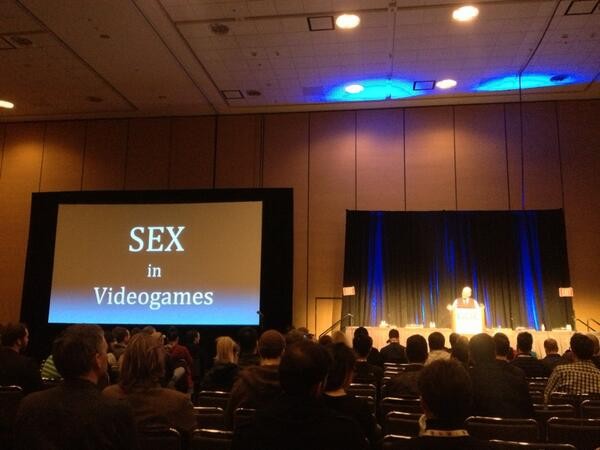 Sex in video games conference