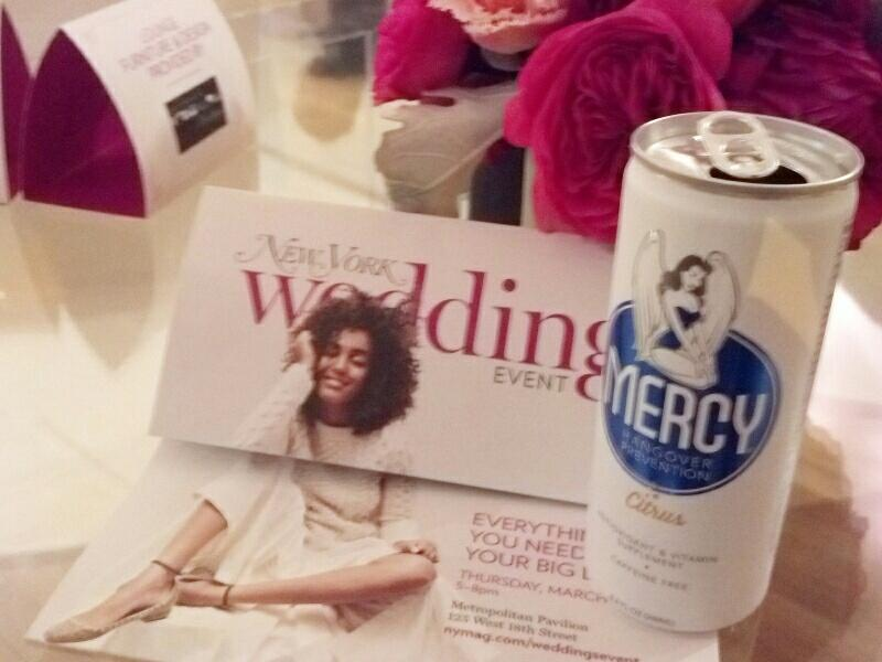 Twitter / DrinkMercy: #bridestobe at the @nymag ...