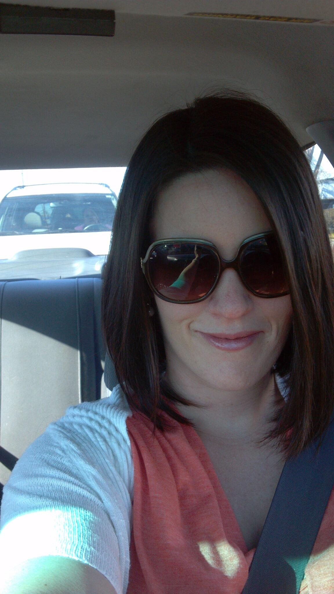 Twitter / YogaGeekGal: Guess who got a haircut?! My ...