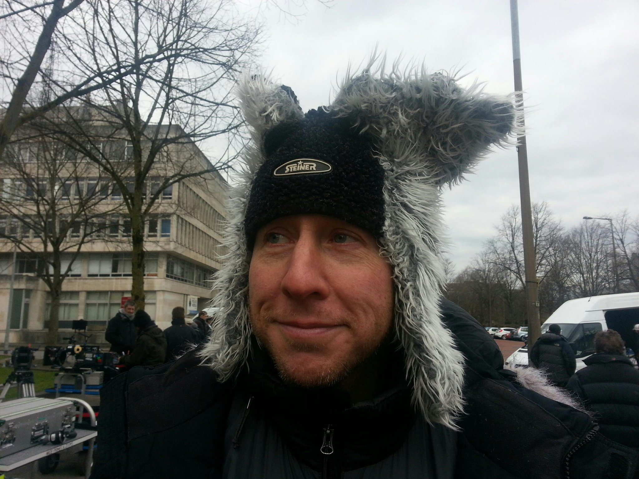 Twitter / arwelwjones: It's so cold in Cardiff the ...