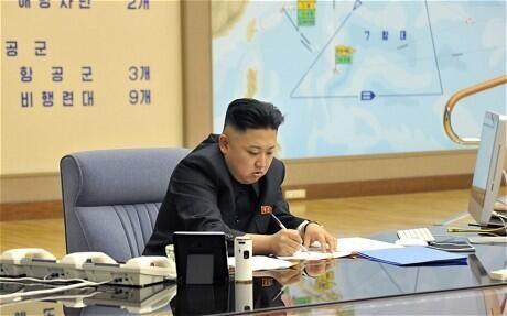 """Telegraph World News on Twitter: """"North Korean plan to attack US mainland revealed in photographs in state-run paper http://t.co/F3Zod1Z2To Pic: EPA http://t.co/QDhAvOrgYU"""""""