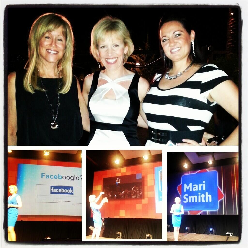 Twitter / Sarahbezeee: The lovely @marismith at #icon13. ...