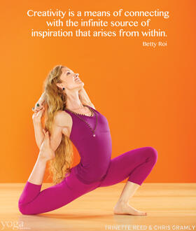 Twitter / Yoga_Journal: Let your creativity flow, yogis! ...