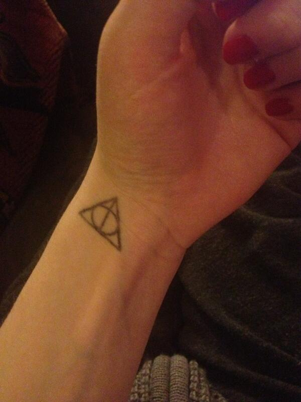 Perksofbeingafanboy On Twitter The Deathly Hallows Symbol Is Not