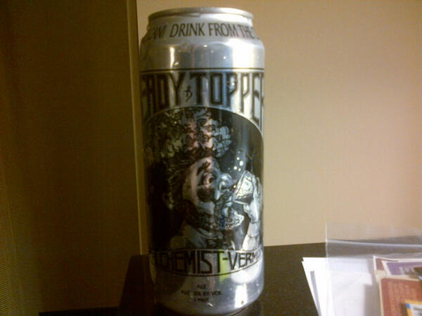 Nice way to bookend the conference. #CBC13 @alchemistbeer Heady Topper http://t.co/u3KDsBYUw9