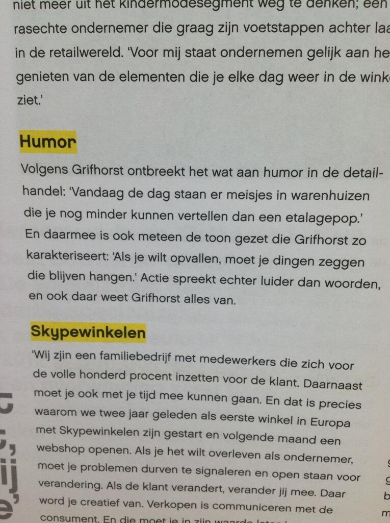 Twitter / jdvdzee: Humor in de detailhandel ...