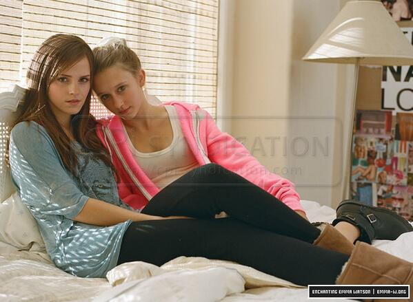 "Taissa Farmiga Bling Ring: Wensley Garbell On Twitter: ""Emma Watson And Taissa"