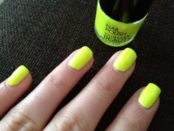 Primark Neon Nail Polish