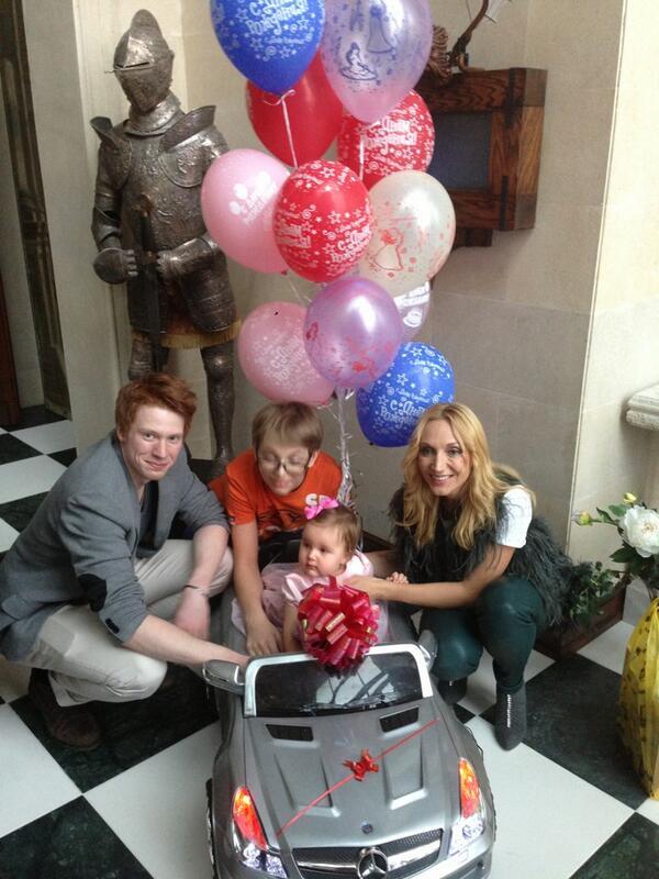 Кристина Орбакайте с детьми