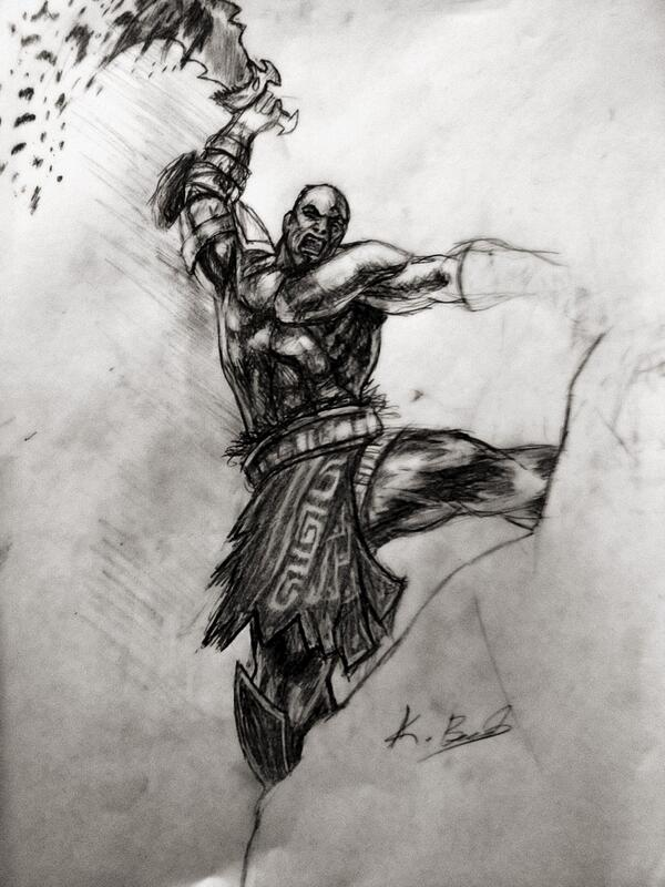 Kivanc On Twitter Imgesel Calismalar God Of War 3