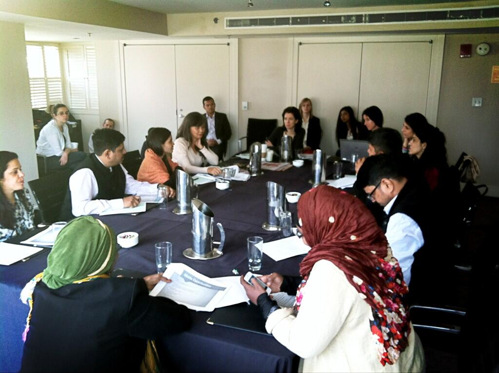Twitter / VitalVoices: Media training day! Planning ...