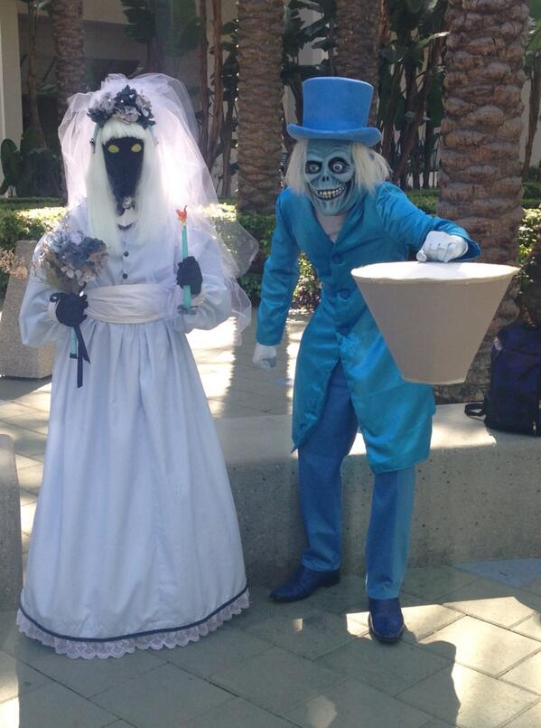 Tom Bricker on Twitter  Awesome costumes! u201c@gopluto The Bride and Hatbox Ghost #wondercon //t.co/vy2ZY2R1Jsu201d  & Tom Bricker on Twitter: