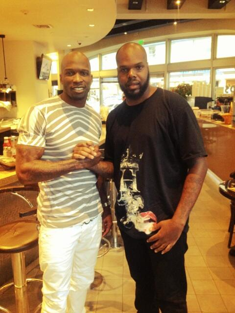 Twitter / ochocinco: Vibin with the homie ...