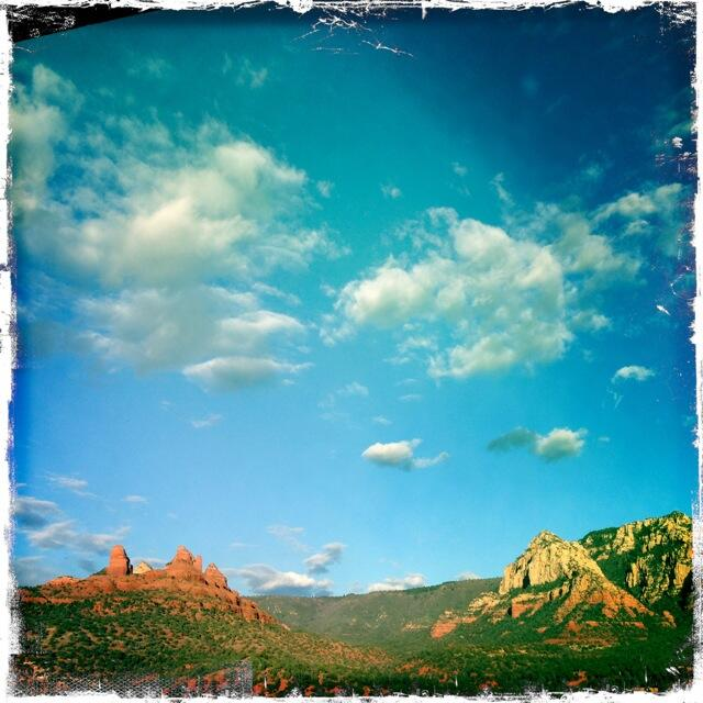 Twitter / NVanReece: The light .. The light #sedona ...
