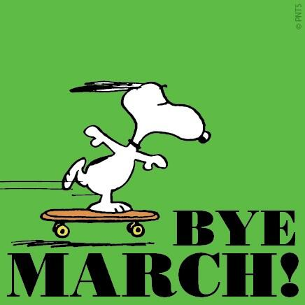 Image result for bye march