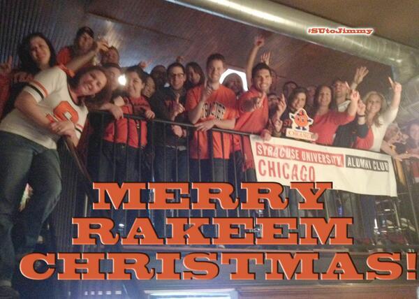 Hey @JimmyFallon & @LateNightJimmy,  Merry Rakeem Christmas! #SUtoJimmy #OrangeNation #finalfour #SUinCHI pic.twitter.com/S4OUoYHkAX