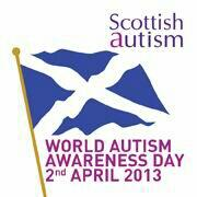 Twitter / scottishautism: @eddireader #WAAD. Flying the ...