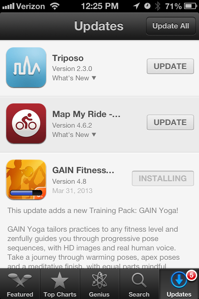 Twitter / GAINfitness: GAIN Fitness v4.8 is here. ...
