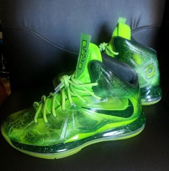 "AthletesCenter on Twitter: ""Nike Lebron X ""Green Lantern ..."