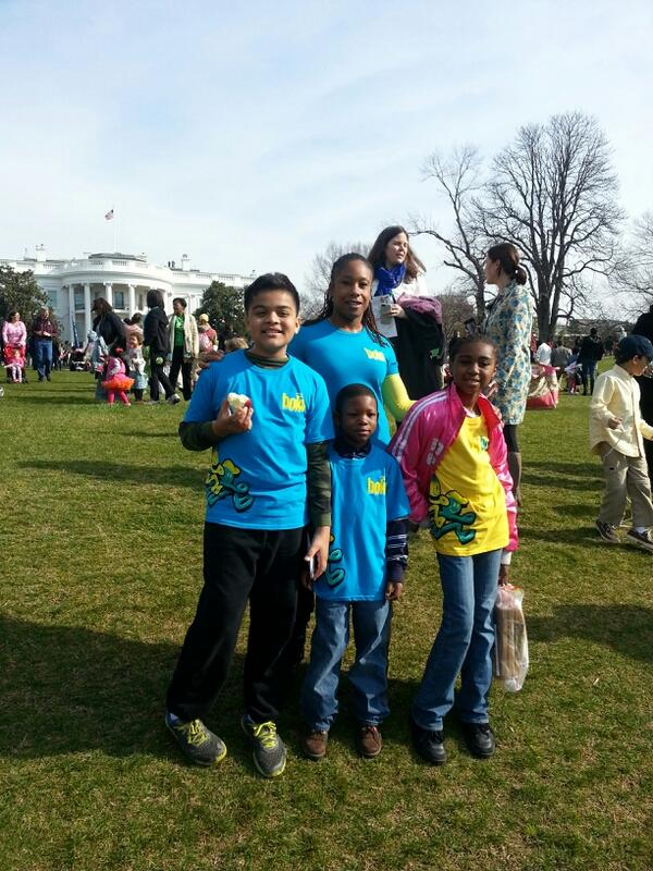 @bokskids thoroughly enjoyed @letsmove #WHSocial #EasterEggRoll #bocksrocks. Thanks for the opportunity @FLOTUS pic.twitter.com/l3kg20m9R0