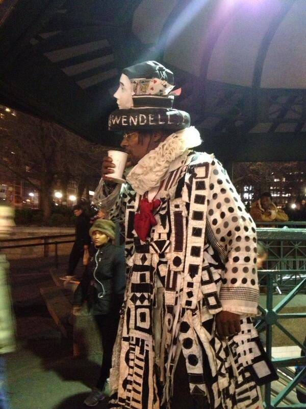 Joey Boots On Twitter Wendell The Homeless Fashion Designer Is Back In Union Square Spring Http T Co Hqlgl4pyvl