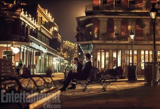 New #TheOriginals photo of Klaus and Elijah :) http://t.co/SCHkz60Uod