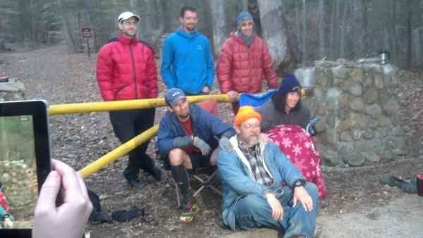 The last 5 Barkley (3 last year 2 this year) finishers plus the RD Gary Cantrell #bm100 http://t.co/0xyBmeGgMO