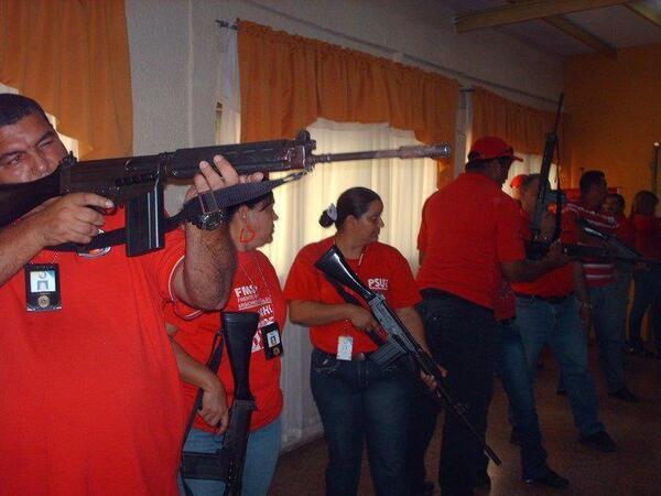 dictadura chavista