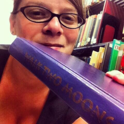 My fave book: Walk Two Moons by Sharon Creech. First shot for UNC Library Snapshot Day! Follow the fun! #UNCSnapIt http://pic.twitter.com/L4rnwdwP3V