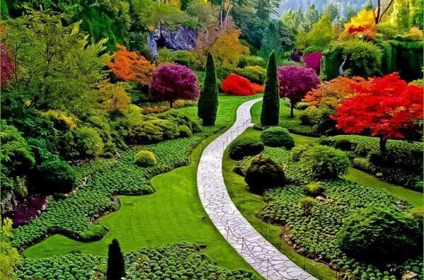 Paisajes incre bles on twitter uno de los mas hermosos for Paisajes de jardines