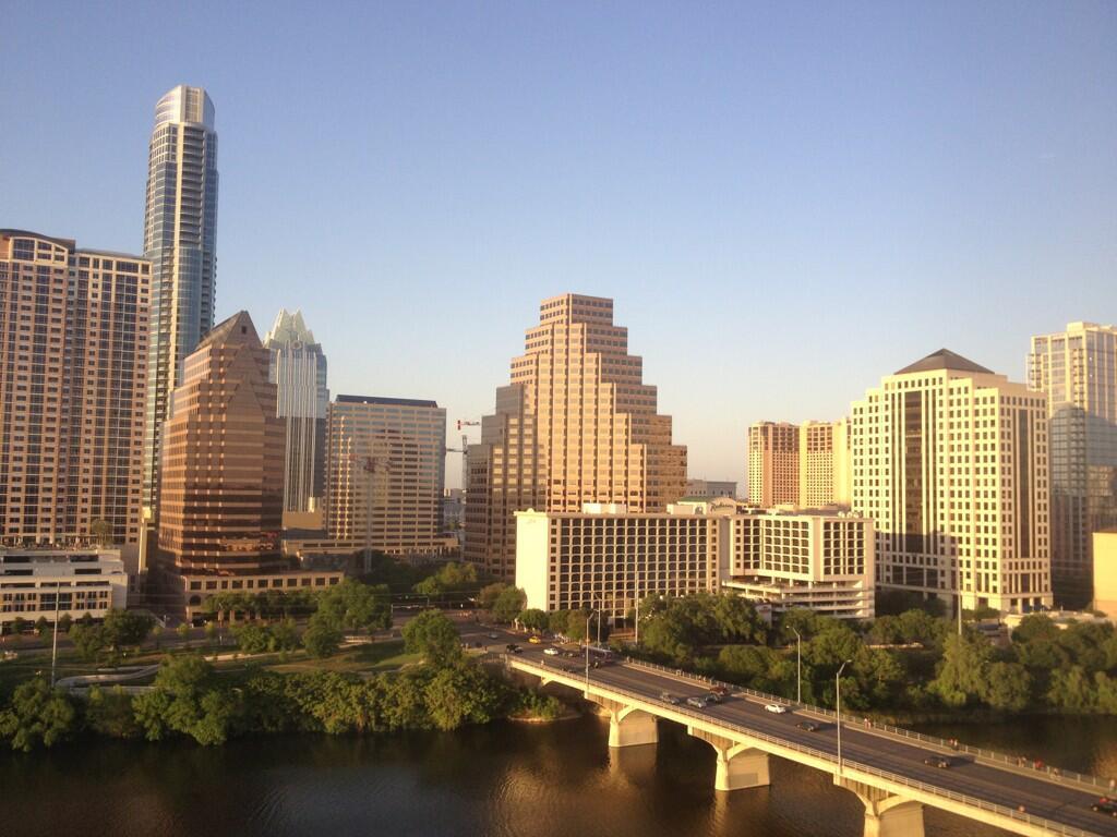 Twitter / rwang0: Gorgeous views of Austin #atx ...