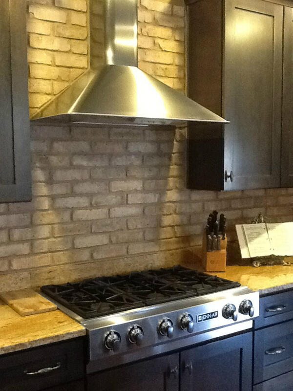 vintage bricksalvage on twitter thin brick veneer tile backsplash