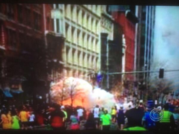 Thumbnail for Boston Marathon explosions in tweets and images