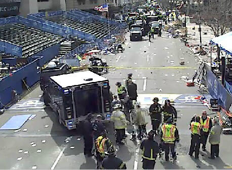 Thumbnail for Boston Marathon explosions