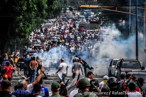 Como amaneció Venezuela.
