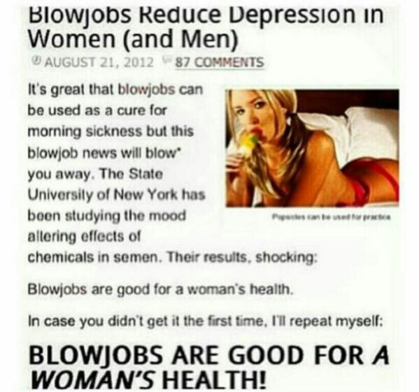 Are Blow Jobs Good For Women
