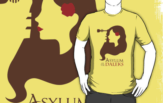 Get this awesome #AsylumOfTheDaleks shirt here: redbubble.com/people/citronv…  #DoctorWho #Whovians #ClaraOswinOswald pic.twitter.com/vpTAnD9WWv