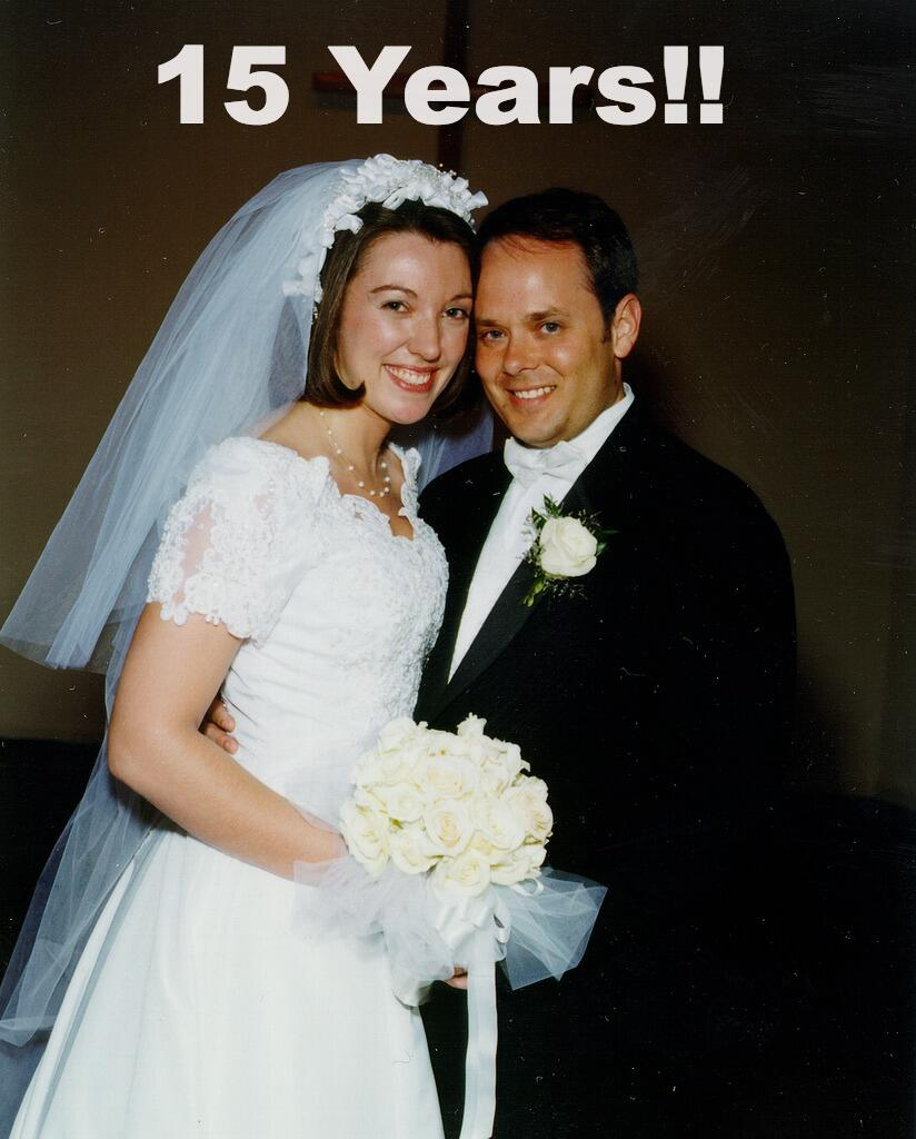 Twitter / jenleereeves: It's 15 years of marriage for ...