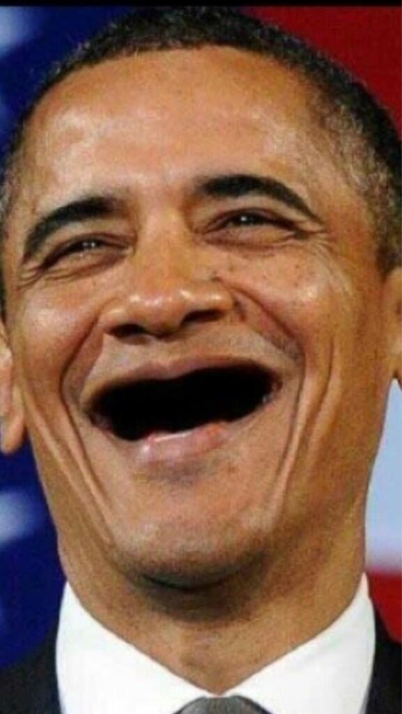 Celebs Without Teeth On Twitter Barack Obama Httptco - Celebrities without teeth
