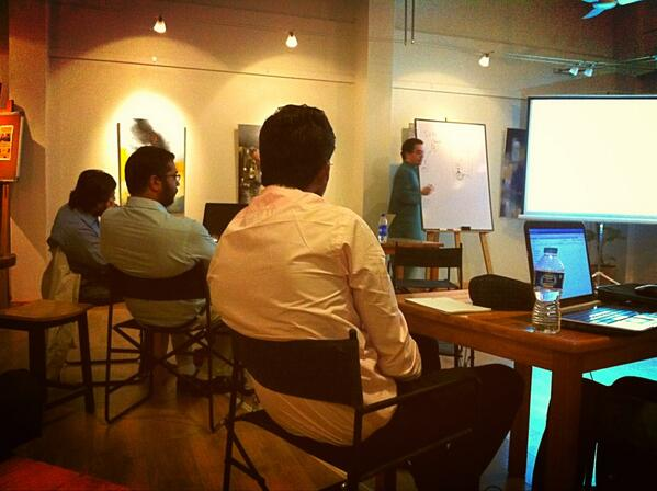 #CivHackKHI events kick off with #opensource & @github workshop by @hkarahan81 @thesecondfloor http://t.co/agx2qUOXMl