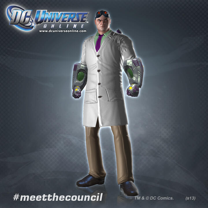 meet the council dcuo dlc