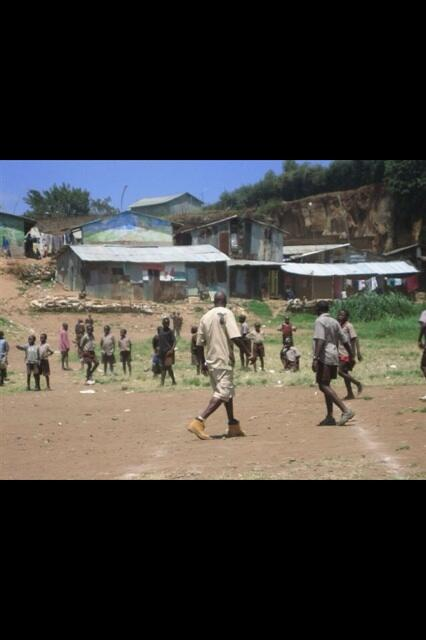 Twitter / ochocinco: #tbt Playing futbol in Kenya ...
