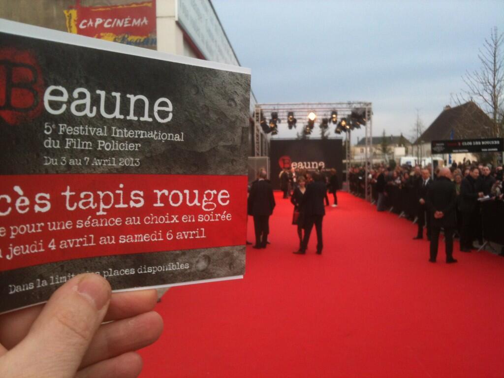 Twitter / BourgogneLive: Sur le tapis rouge du Festival ...