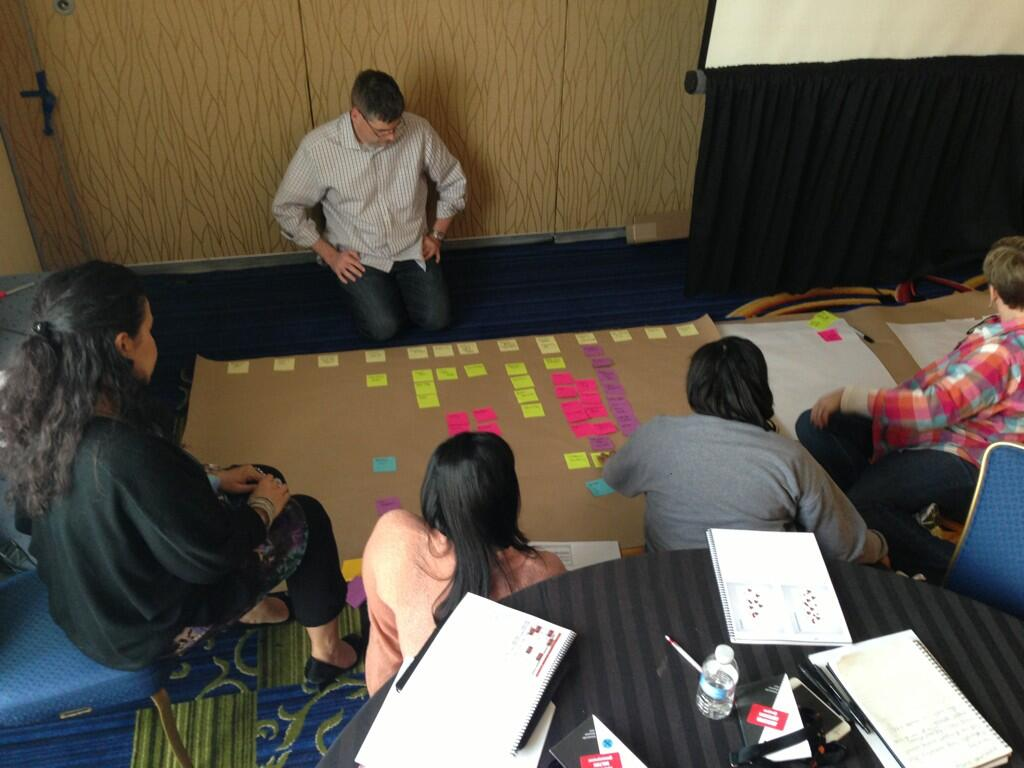 Twitter / ptquattlebaum: More #xmapping in action #ias13 ...