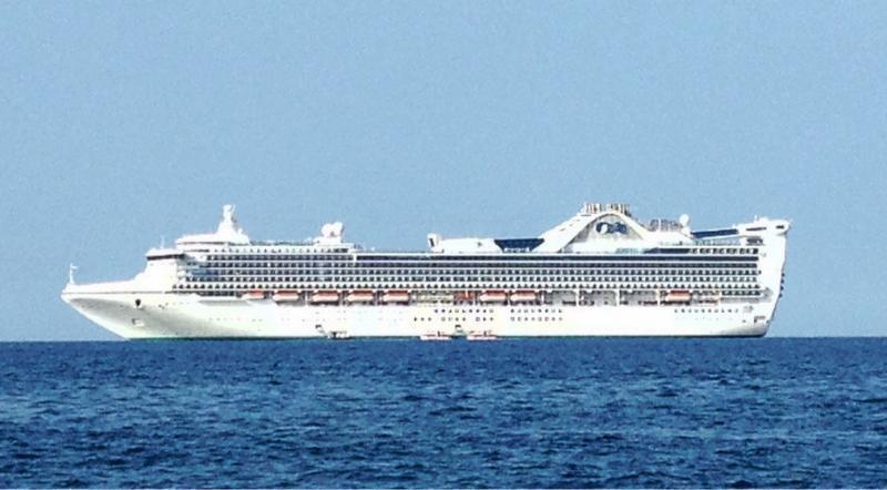 Twitter / CruiseMaven: Perfect shot of @PrincessCruises ...