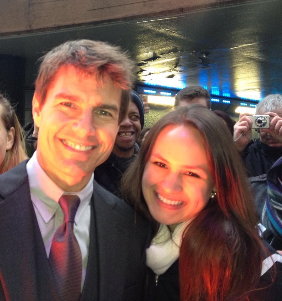 Twitter / celestuart: @TomCruise You're not just ...