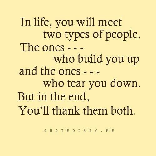 Twitter / JoyAndLife: The 2 types of people you will ...