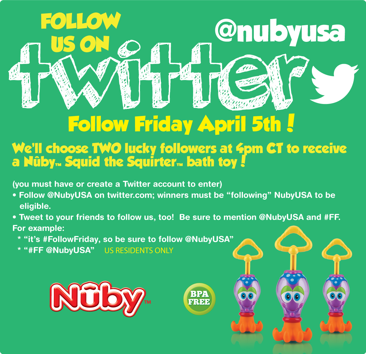 Twitter / NubyUSA: #FollowFriday #Giveaway See ...