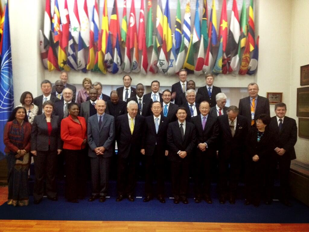 Twitter / HelenClarkUNDP: With @UN Sec-Gen & ...