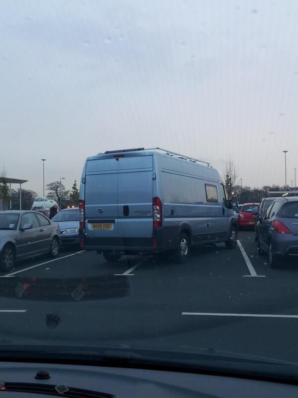 WN58 VBO displaying Selfish Parking